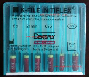 Dental Equipment of Original Dentsply Nitiflex File (OSA-F746) pictures & photos