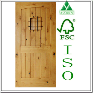 Painted Knotty Alder Entry Door 2015 Design