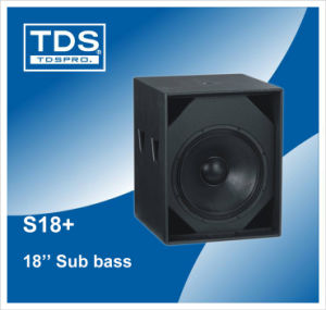 Subwoofer S18+ pictures & photos