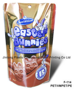 Sand-up Food Bag for Chocolate pictures & photos