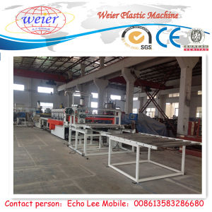 Line of WPC Foam Board Extrusion pictures & photos