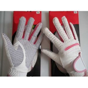Sheep Leather Golf Glove for Lady, Lady Anti-Skid Sport Glove pictures & photos