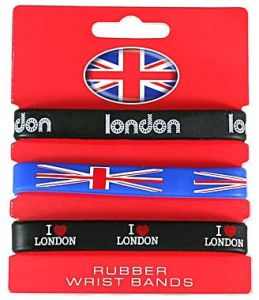 Customized London Silicone Wristband for Souvenir pictures & photos