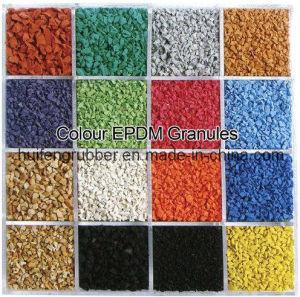 Color EPDM Rubber Granules