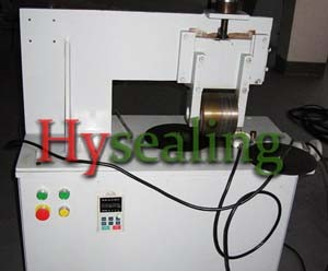 Eyelets Wrapping Machine for Sealing Gasket pictures & photos