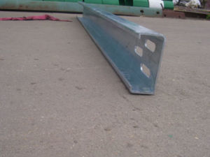 Hot DIP Galvanized Crash Barrier C Type Post