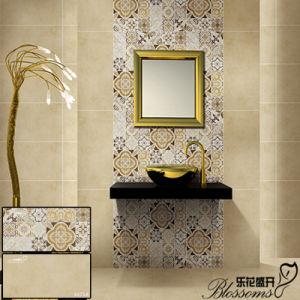 Ceramic Matt Stone Wall Tile for Interior Clading (300X600mm)