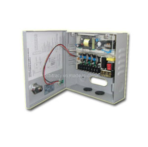 CCTV Power Supply Box 4 Channel 3.0A (RX-PS36-4C)