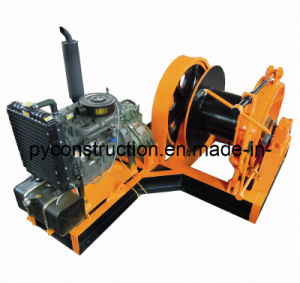 10ton Diesel Engine Powered Winch for Marine, Construction, Mining (JMD-10T) pictures & photos