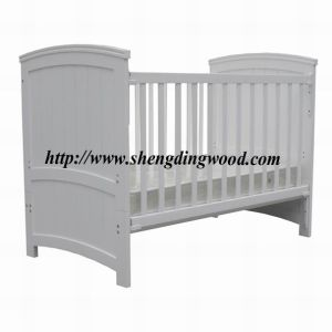 Sleigh Wooden Baby Cot