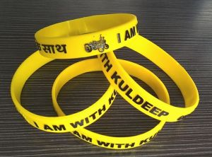 Silicone Wriststrap with Customized Logo (OM-S101) pictures & photos