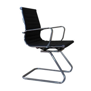 Visitor / Office Chair with Chrome Steel Frame and High Density Foam Inside (60037) pictures & photos
