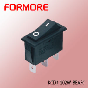 Kcd3 on-off Rocker Switch with Two Pins /Push Button Switch pictures & photos