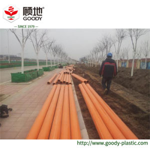 Municipal High Voltage Cable Power Network Construction Use Large Diameter PVC-C Cable Wire Protection Pipe pictures & photos