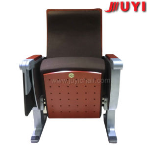 Chinese Factory Heavy Duty Wooden Armrest Fire Resistant Fabric Folding VIP Cinema Auditorium Seating pictures & photos