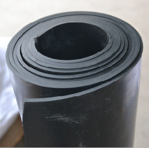 Plain NBR Nitrile Rubber Flooring Sheet in Rolls pictures & photos