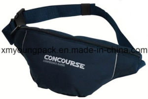 Navy Blue Embroidery Sport Waist Bag Basic Bum Bag pictures & photos