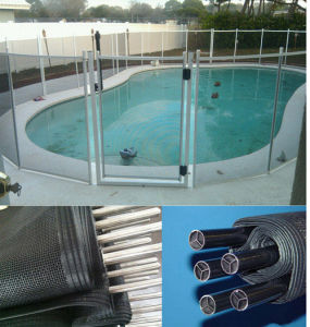 China Pvc Coated Polyester Mesh Fence Swimming Pool Safety Fence