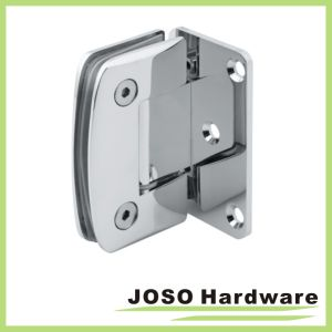 Glass to Wall 90 Degree Curved Shower Hinge (Bh6001A) pictures & photos