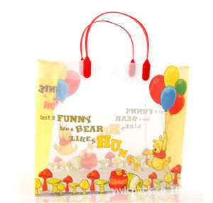 Customized printed Plastic gift bag (PVC bag) pictures & photos