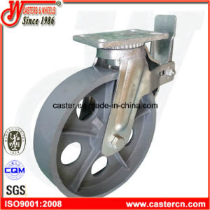 12 Inch Heavy Duty Cast Iron Scaffolding Caster pictures & photos