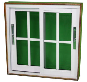 Good Quality Cheap Price Aluminium Sliding Balcony Window pictures & photos