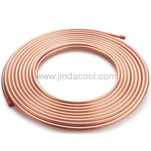 Soft Temper Copper Tube in Air Conditioning pictures & photos