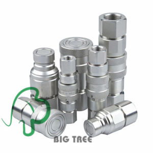 Flat Face High Pressure Quick Coupling / Coupler pictures & photos