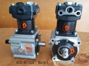 Komatsu Excavator Spare Parts Inflating Pump (6151-81-3112) pictures & photos
