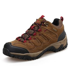 Trekking Shoes Outdoor Moutain Climbing Non-Slip for Men (AK8929) pictures & photos