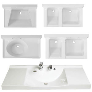 Artificial Stone Wash Sink for Bathroom