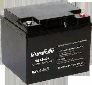 12V 40ah PVC Gel Backup Battery Battery (NG12-40X)