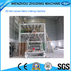 Spun Nonwoven Fabric Making Machine pictures & photos