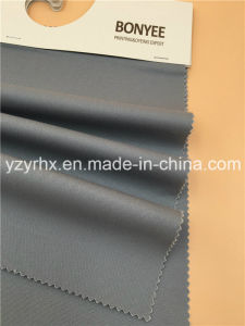 Finished Fabric 100% Cotton Twill Peach Printed Deep Grey pictures & photos