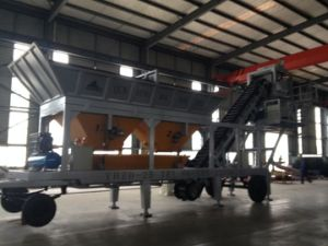 Mobile Batching Machine Yhzd50, Concrete Mixing Plant pictures & photos