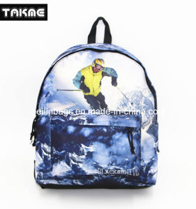Fashion Sports Printing Bag Backpack for School Sport Travel Hiking