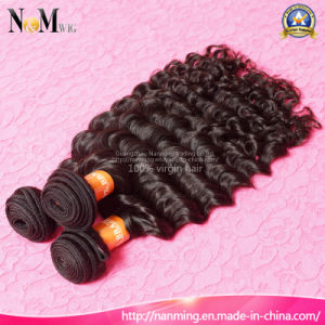 New Arrival Cheap Deep Wave Brazilian Curly Hair for Dubai pictures & photos