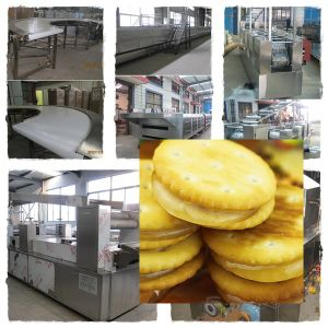 High Capacity Efficient Sandwich Biscuit Making Machine pictures & photos