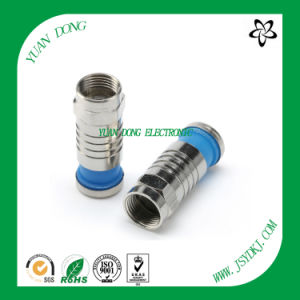RG6 Coaxial Cable Compression Connector CATV Connector Manufactory pictures & photos