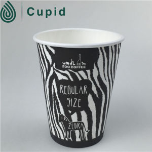Printed Wall 12oz Single Wall Personalised Paper Coffee Cup pictures & photos