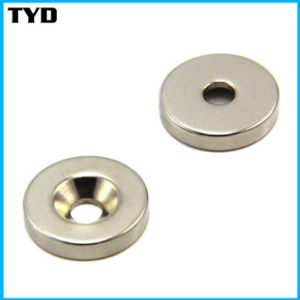 Grade N42 Sintered NdFeB Permanent Magnet Ring