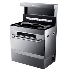 Freestanding Ceramic Cooker+Electric Oven with Range Hood pictures & photos