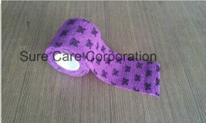Self-Adhesive Elastic Bandage (Non-Woven or Cotton Materil) pictures & photos