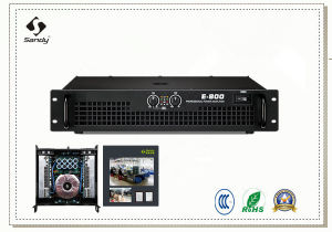 E Series High Power Amplifier 2600watt, KTV, Meeting Use