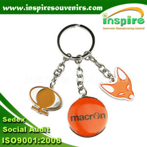 Fashion Sport Charms Metal Key Chains pictures & photos