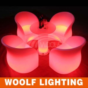 Light up Colorful Modern Waterproof LED Garden Furniture