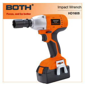 Electric Cordless Impact Spanner (HD1605A) pictures & photos