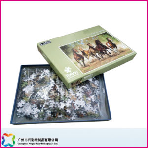 Customized Colorful Paper Jigsaw Puzzle High Quality Educational Toy (xc-9-20) pictures & photos