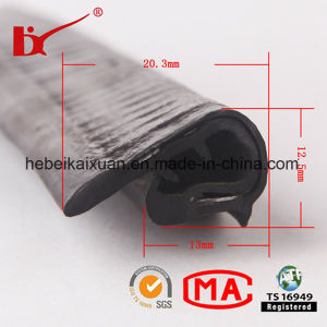 Anti-Aging Extruded PVC Trim for Door Window pictures & photos