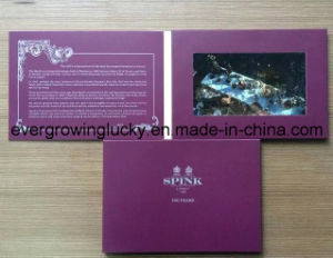 Custom 7inch LCD Screen Greeting Graphic Video Cards From China pictures & photos